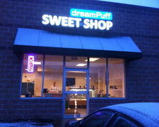 dreampuff sweet shop exterior
