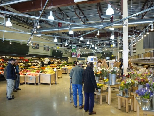 Healthy Living Market interior