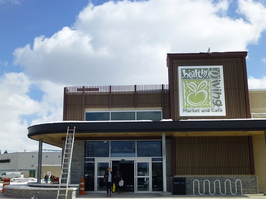 healthy living market exterior