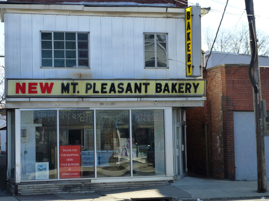 New Mt. Pleasant Bakery exterior