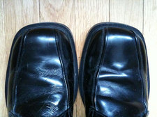 scuffed mens dress shoes