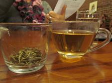 whistling kettle tea tasting tea closeup