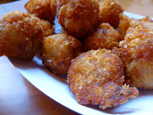 comfort kitchen tater tots closeup
