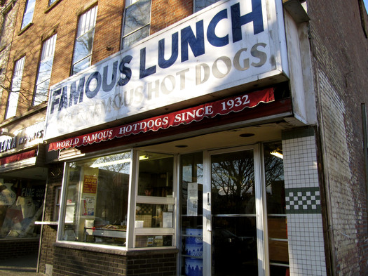 Thumbnail image for famous lunch troy exterior 2013-April