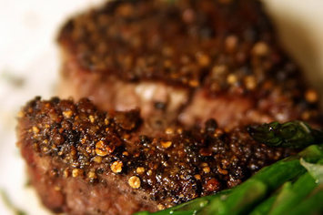 filet steak closeup by flickr quinn.anya