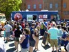 food truck festival troy 2013 wandering dago crowd
