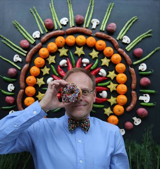 alton brown donut eye