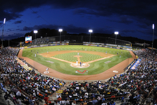 joe bruno stadium night game