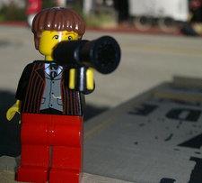 lego man with megaphone flickr hazzat cc