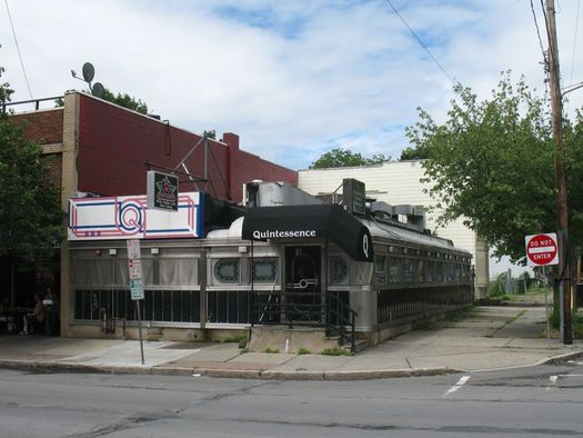 Quintessence diner building exterior 2013-July