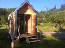 ecovative mushroom house finished