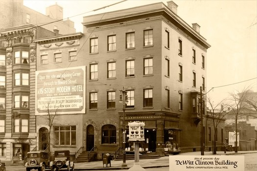 dewitt clinton location albany 1926