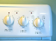 kitchen stove dials