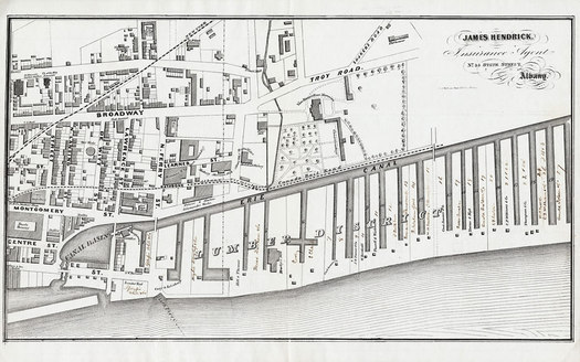 albany lumber district canal map
