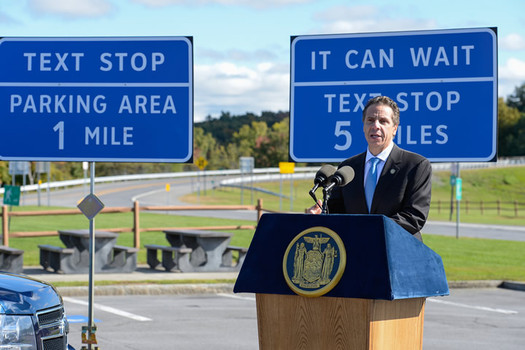 andrew cuomo text stop signs