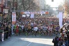 troy turkey trot 2012 start