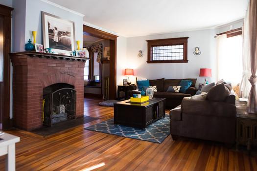 open house upper union living room