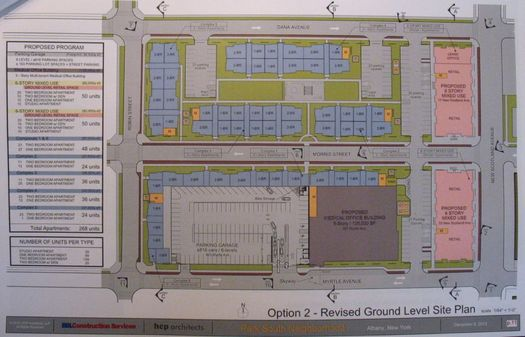park south option 2 site plan