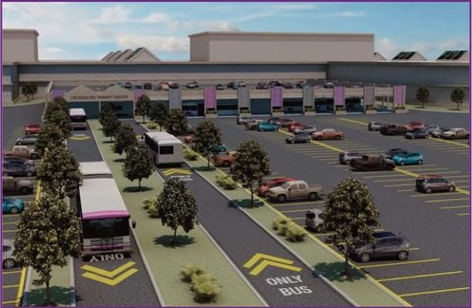 proposed cdta busplus crossgates transit center