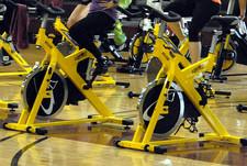 spinning class bikes by Flickr USAG-Humphreys