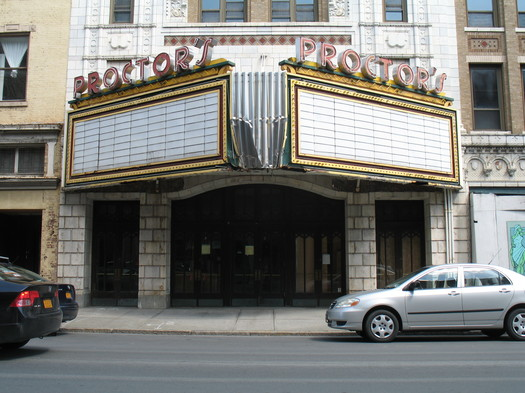 Proctor's Theater in Troy 2013-April