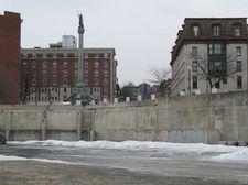 monument square site 2014-02-03 empty