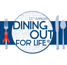 2014 Dining Out for Life logo