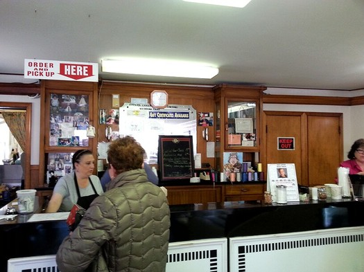 Civitello's Schenectady order counter