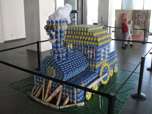 canstruction little engine that could