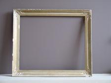 empty frame against wall