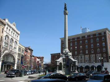 monument square troy soldiers and sailors