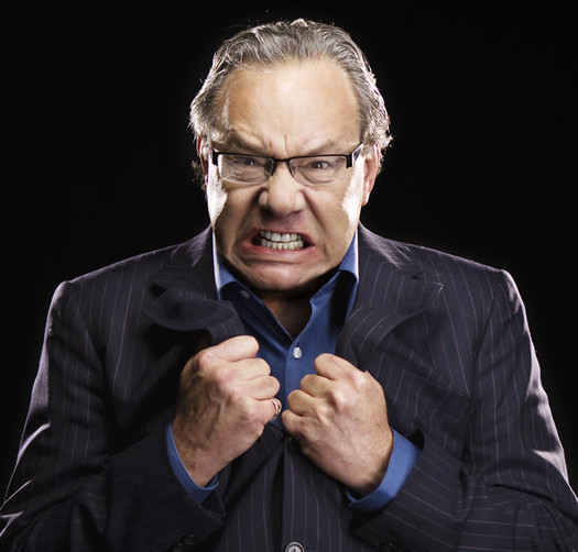 Lewis Black angry promo photo