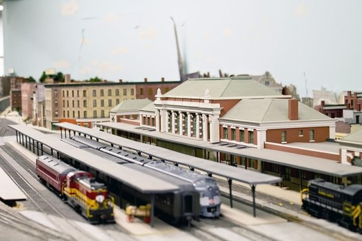 Troy Union Station model
