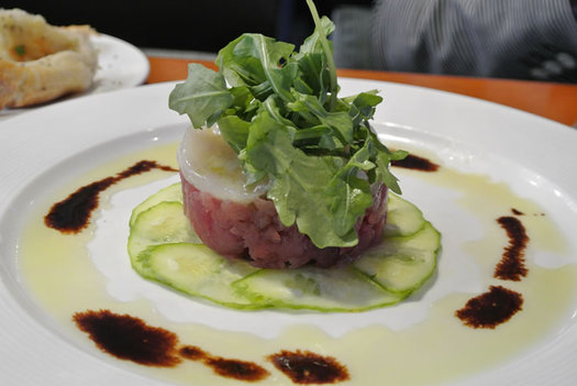 Reel Seafood Co tuna tartare
