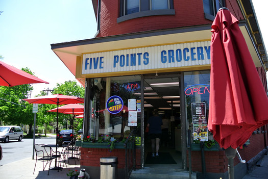 five points grocery saratoga springs