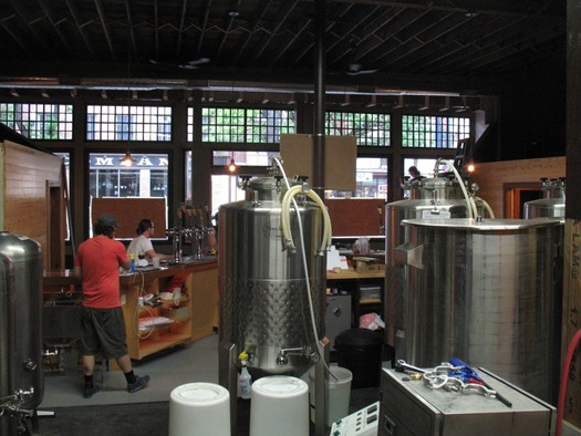 Rare Form Brewing brewing system