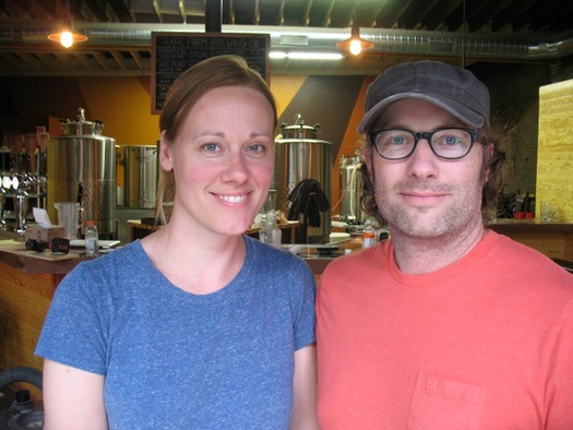Rare Form Brewing Jenny Kemp and Kevin Mullen