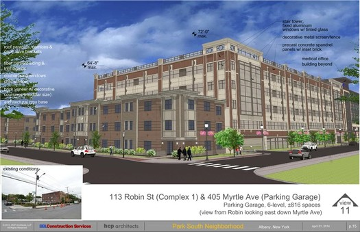 park south parking garage rendering 2014-April
