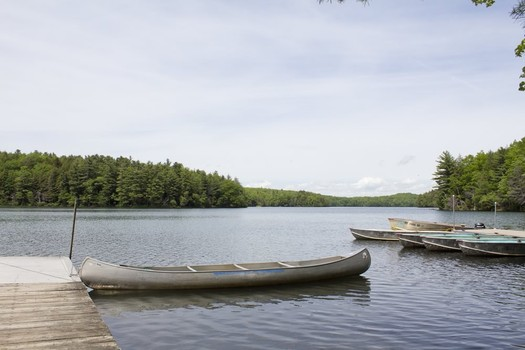 canoes at Grafton Lakes