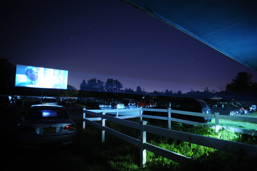 jericho drive-in movie screening
