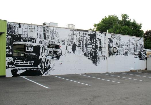 mingle mural samson contompasis