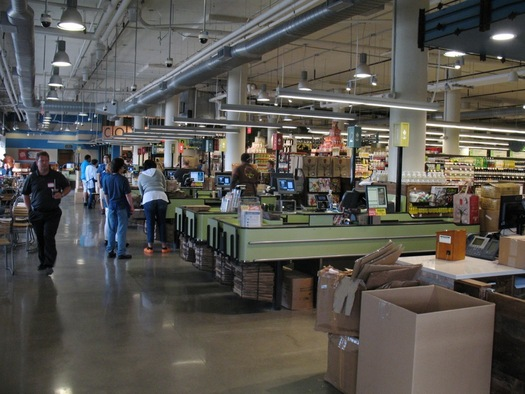 Whole Foods check out