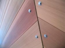 wood panels closeup