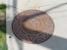 albany sewer hole cover