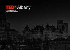 TEDxAlbany logo skyline