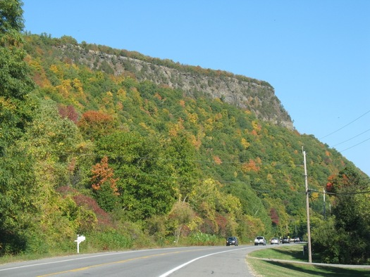 Vroman's Nose from below