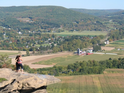 Vroman's Nose view to the north