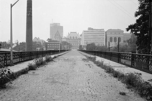 hawk street viaduct looking toward capitol