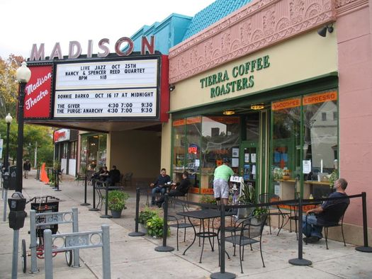 Madison Theater exterior October 16 2014