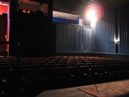 madison theater performance venue from stage